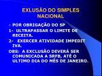 exlus o do simples nacional2