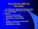 exlus o do simples nacional3
