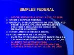 simples federal