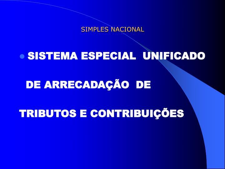 simples nacional n.