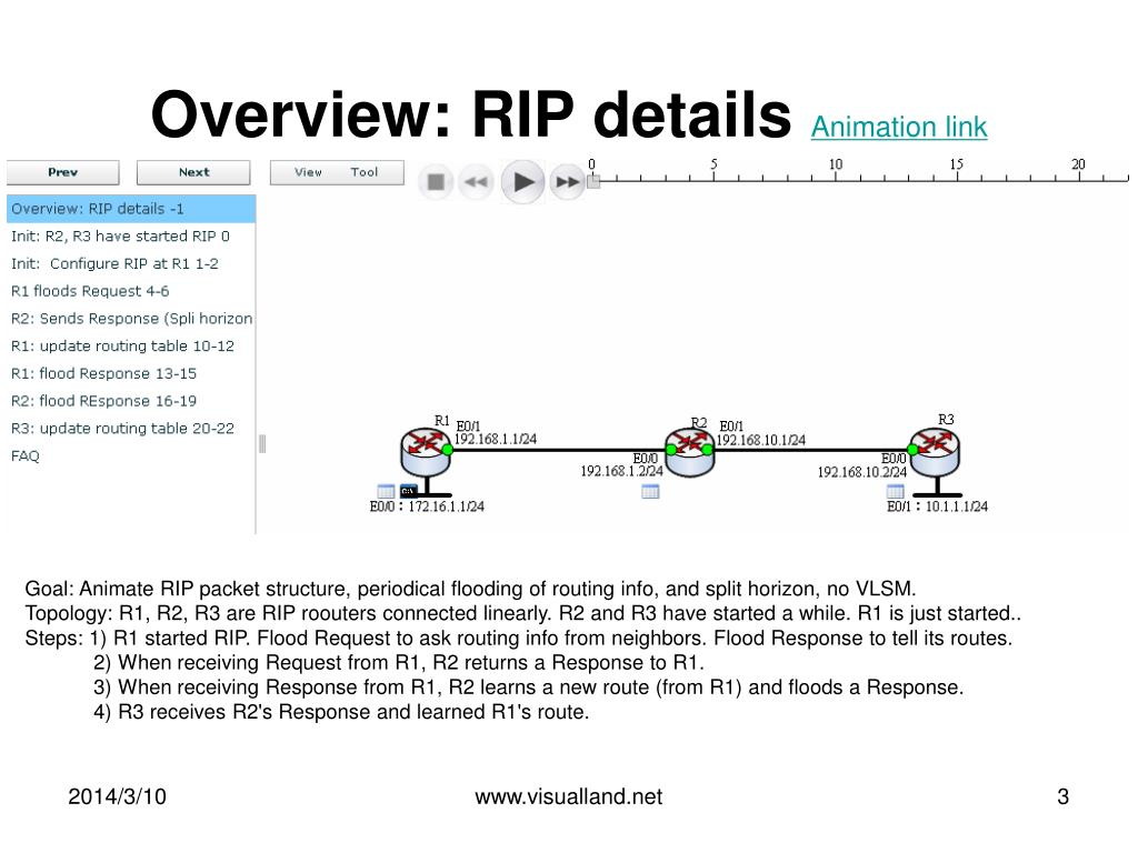 Overview: RIP details