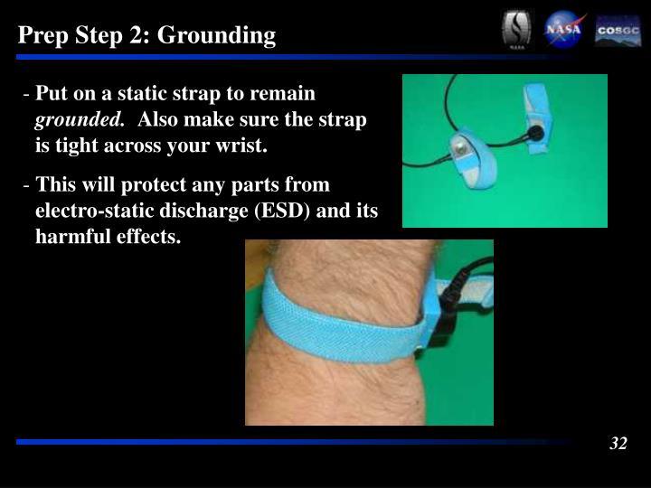 Prep Step 2: Grounding