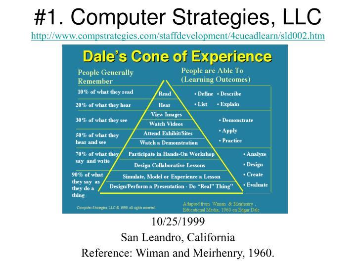 #1. Computer Strategies, LLC