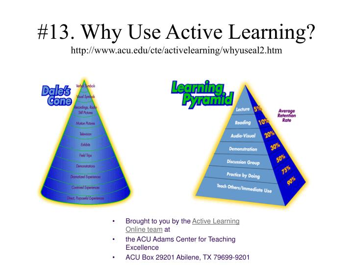 #13. Why Use Active Learning?
