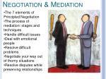 negotiation mediation