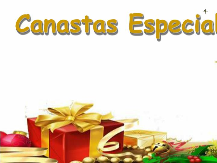 Canastas Especiales
