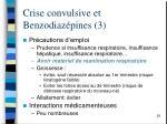 crise convulsive et benzodiaz pines 3
