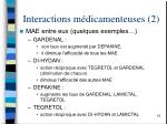 interactions m dicamenteuses 2