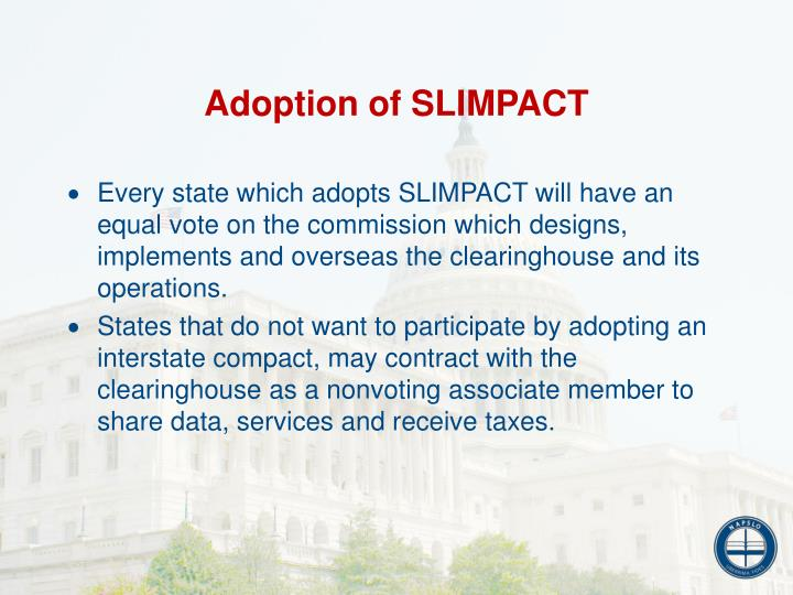 Adoption of SLIMPACT