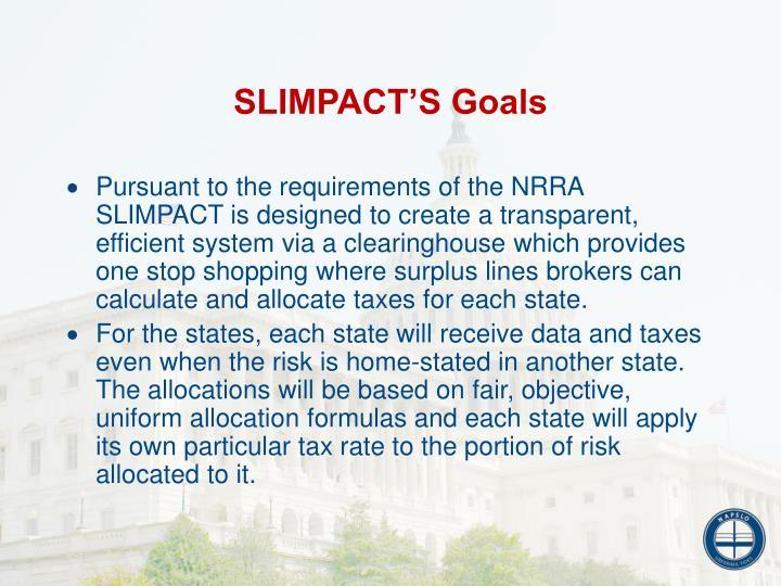 SLIMPACT'S Goals