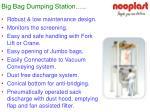 big bag dumping station