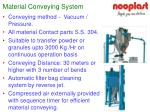 material conveying system