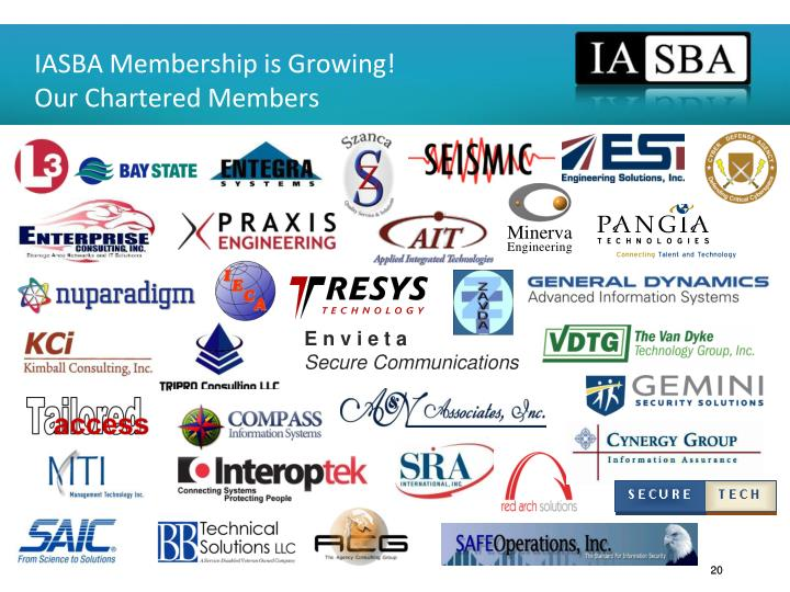 IASBA Membership is Growing!