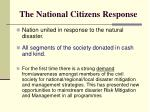 the national citizens response