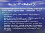 recent tc activities 2
