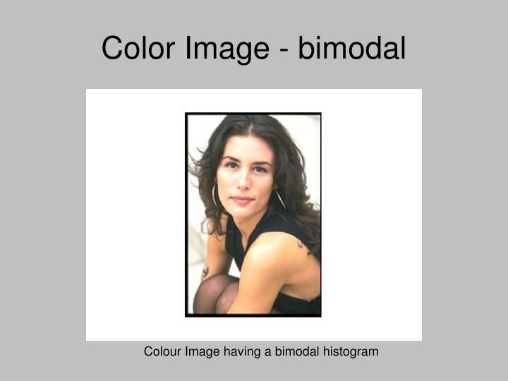 Color Image - bimodal
