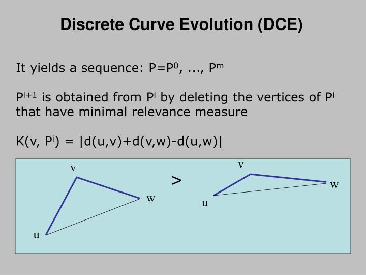 Discrete Curve Evolution (DCE)
