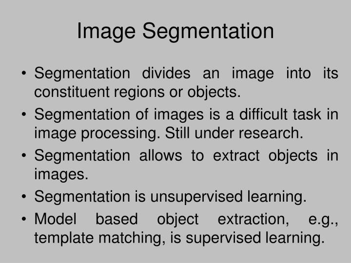 Image segmentation1