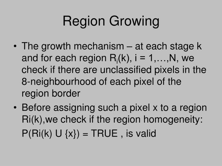 Region Growing