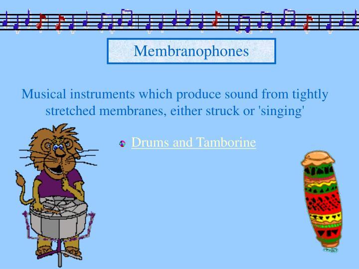 Membranophones