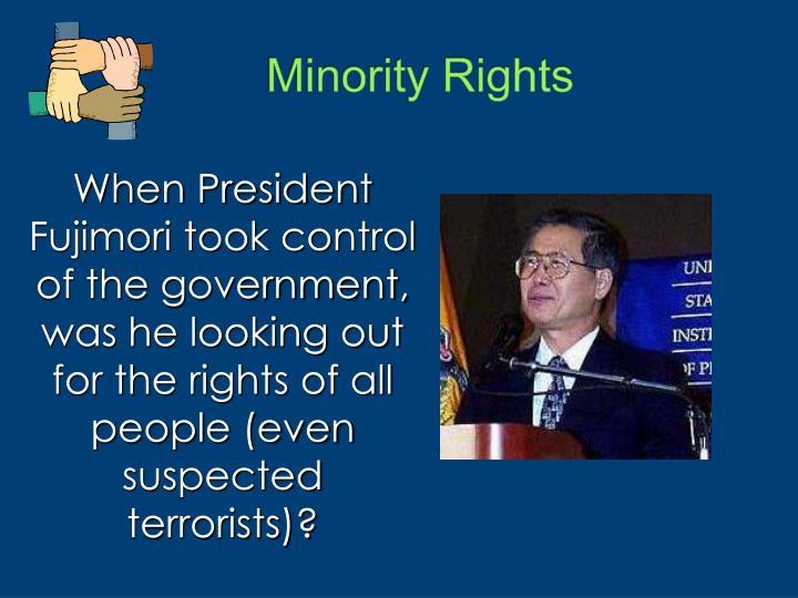 Minority Rights