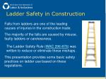 ladder safety in construction1