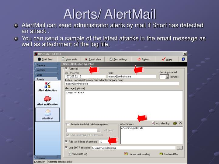 Alerts/ AlertMail