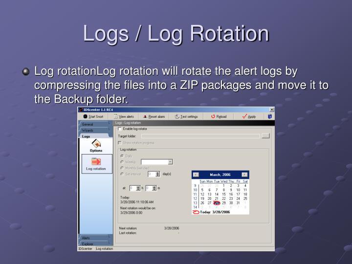 Logs / Log Rotation