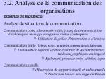 3 2 analyse de la communication des organisations1