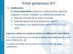 knick portamess 9111
