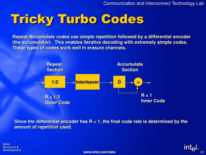 Tricky Turbo Codes