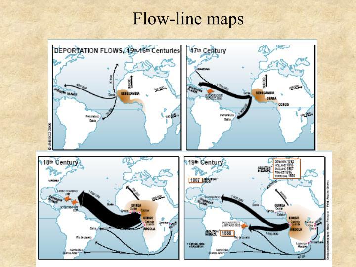 Flow-line maps