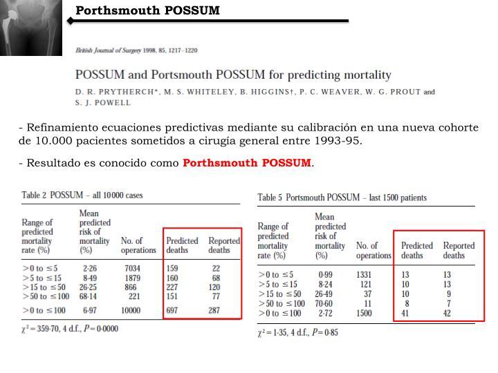 Porthsmouth POSSUM