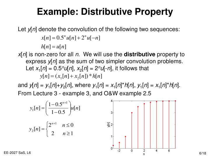 Example: Distributive Property