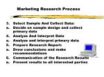 marketing research process1
