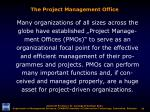 the project management office1
