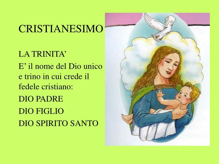 CRISTIANESIMO