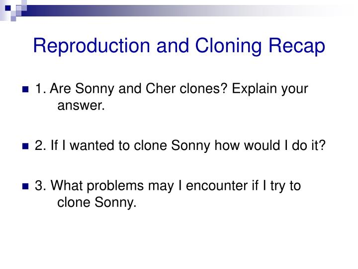 cloning is it science fiction or