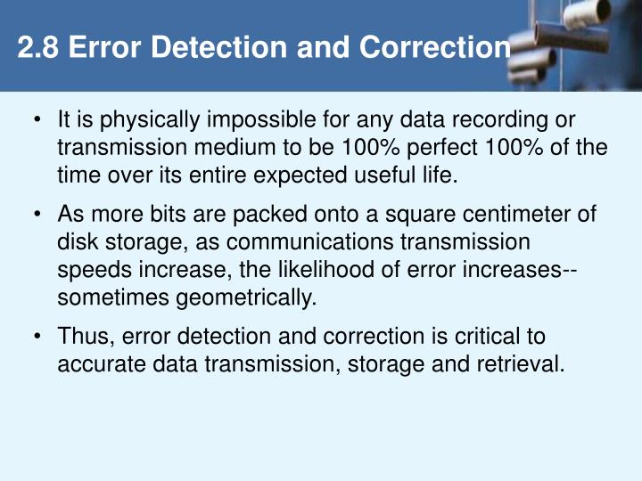 2 8 error detection and correction n.