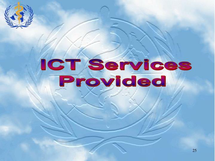ICT Services