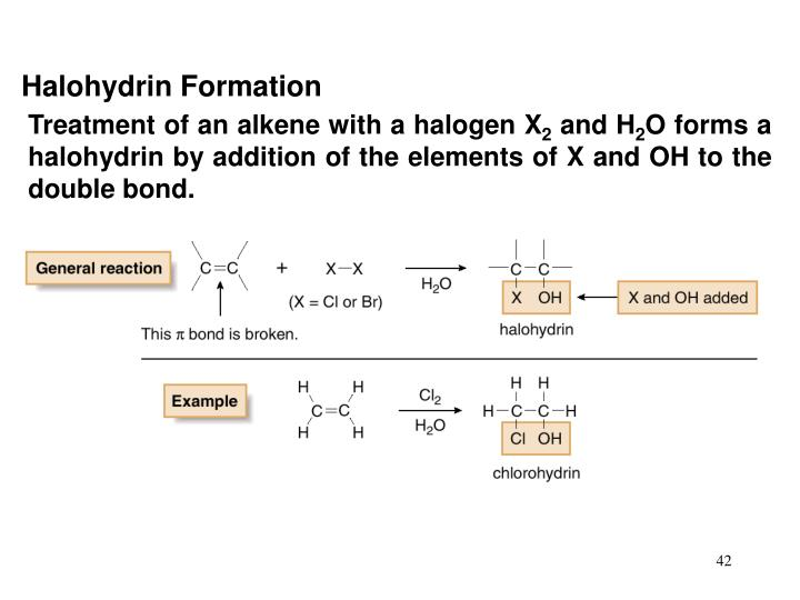Halohydrin Formation