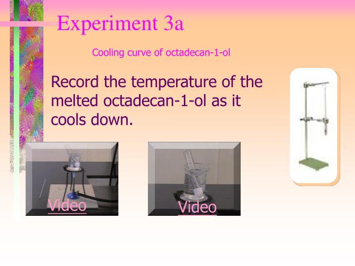 Experiment 3a