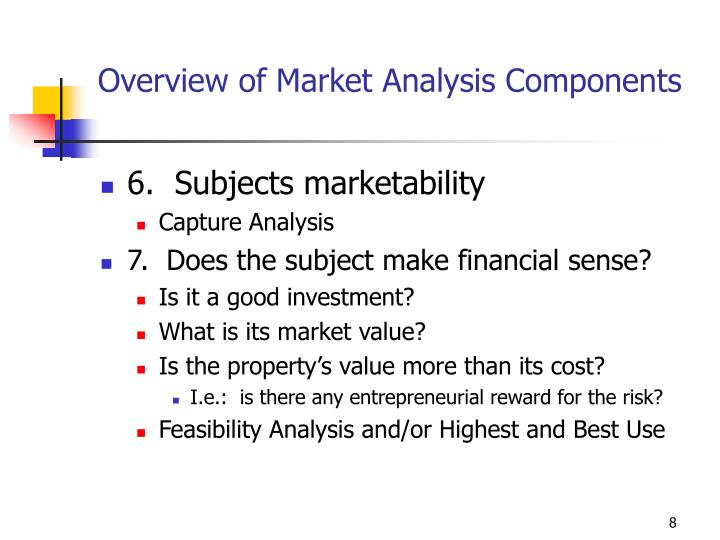 Overview of Market Analysis Components