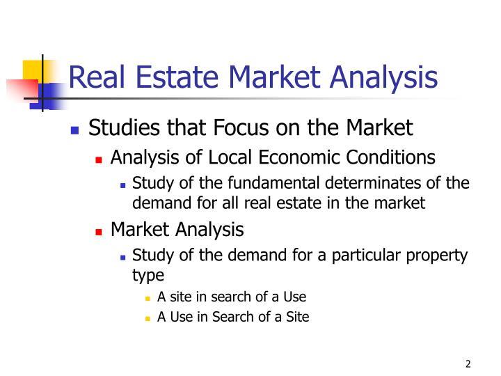 Real estate market analysis1