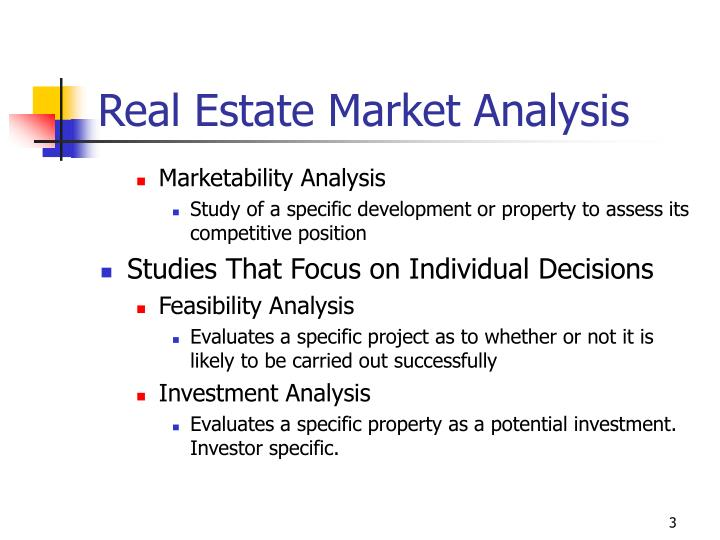 Real estate market analysis2