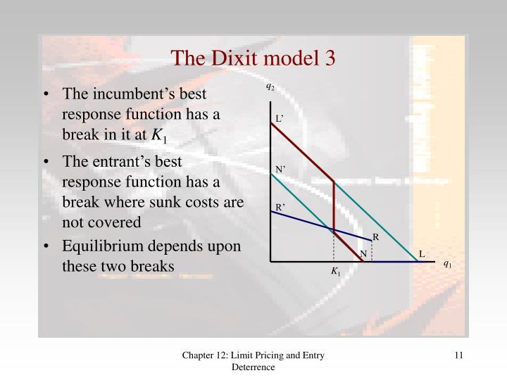 The Dixit model 3