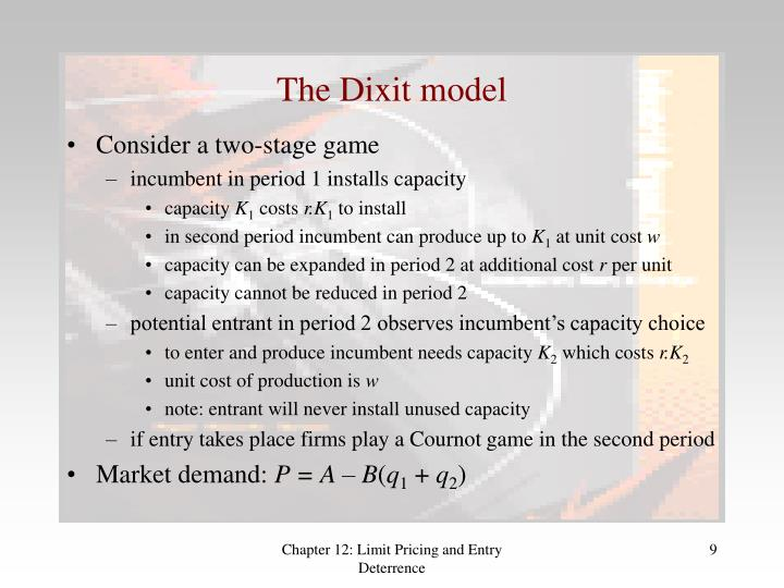 The Dixit model