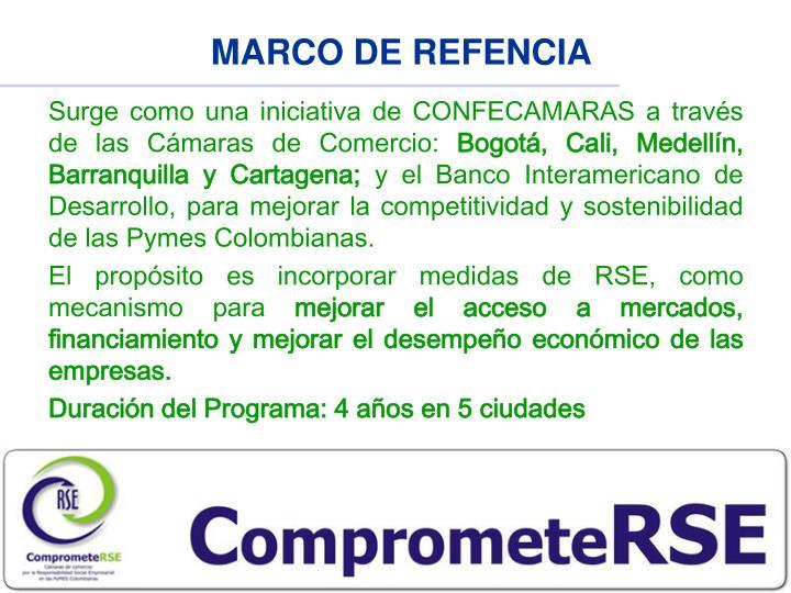 MARCO DE REFENCIA