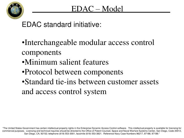 EDAC – Model