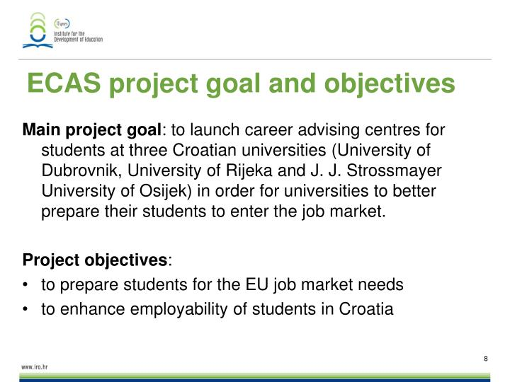 ECAS project